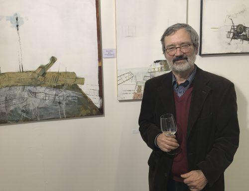 Schulrat Benno Meliss stellt auf der ART Innsbruck 2018 aus