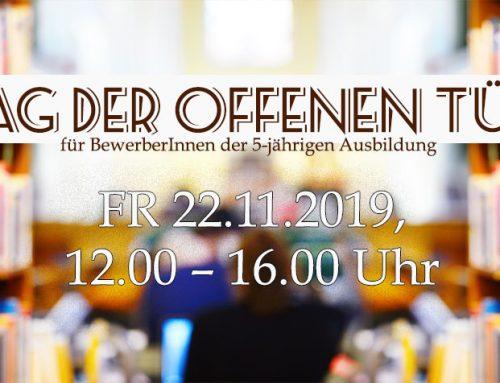 Programm für den Tag der offenen Tür