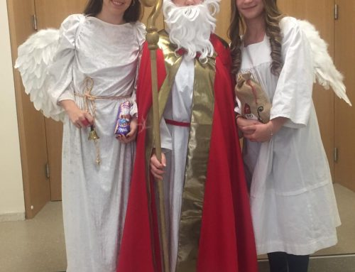 Der Bischof Nikolaus an der BAfEP