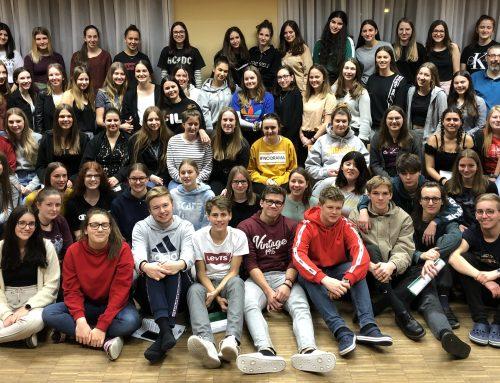 Schulchorprobe in Bregenz
