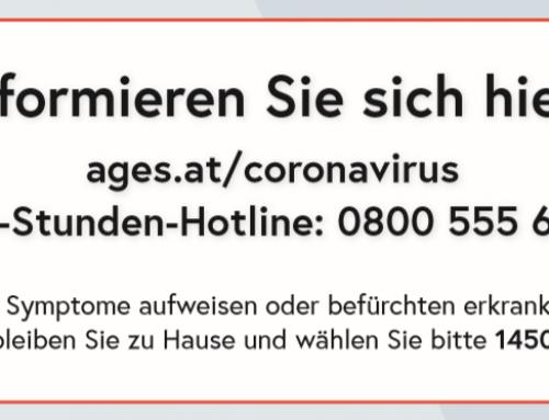 Schutzmaßnahmen gegen das Coronavirus (COVID-19)
